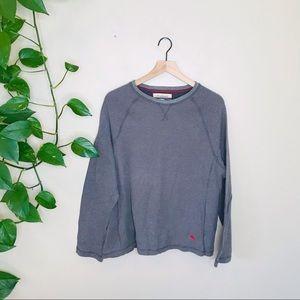 Tommy Bahama Gray Long Sleeve Thermal Shirt